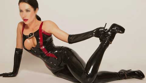 latex supermodel escort london