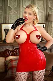 Sexy Busty Blonde English escort Harriet: Busty Blonde Dom, sexy busty GFE, Fetish escort, Tie and Tease, Role Play escort an dmore with sexy Harriet